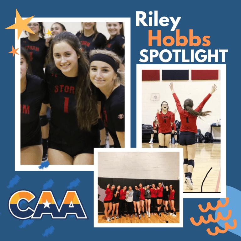 Riley Hobbs Spotlight CAA