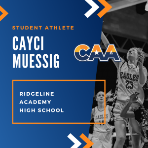 student athlete Arizona basketball Cayci Muessig CAA